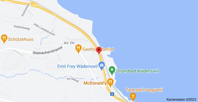 Karte von Seestrasse 251, 8804 Au ZH