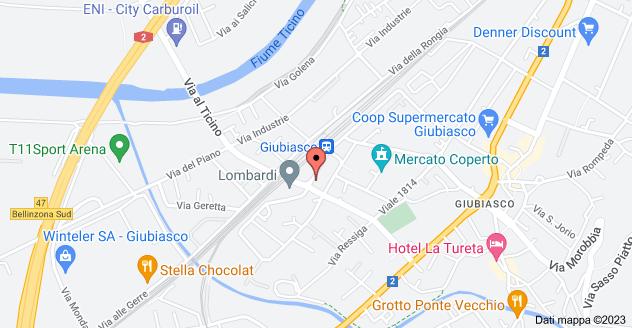 Mappa di: Viale Stazione 19, 6512 Giubiasco