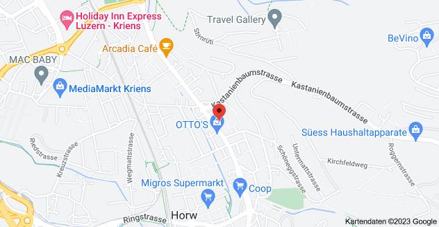 Karte von Kantonsstrasse 49, 6048 Horw